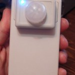 Motion detector from PC