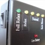 Stress meter LEDs